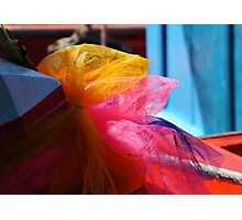Lucky Ribbons Photographic Print