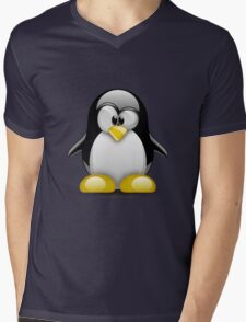 Tux Mens V-Neck T-Shirt