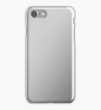 STEEL - Plain Color iPhone Case and Other Prints iPhone Case/Skin