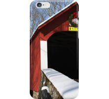 Snow for the Holidays iPhone Case/Skin