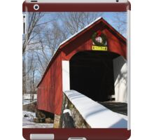 Snow for the Holidays iPad Case/Skin
