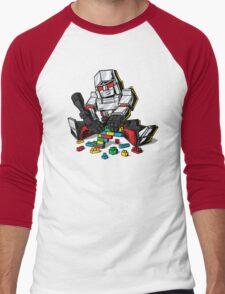 Megablocks Men's Baseball ¾ T-Shirt