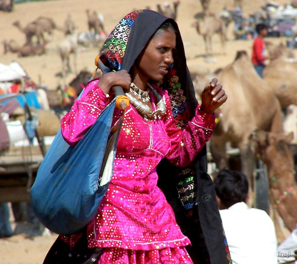 Gypsy Woman by linaji