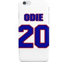 Basketball player Odie Spears jersey 20 iPhone Case/Skin