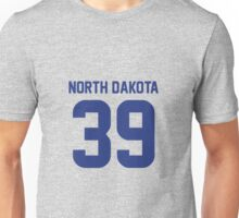 North Dakota 39 Unisex T-Shirt