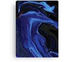 The Blue Kiss Canvas Print