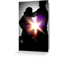 Love never fails... Greeting Card