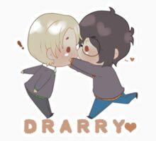 Chibi Drarry sticker- chu! by Cremebunny