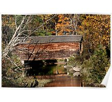 Hyde Hall Covered Bridge Poster
