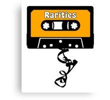 Rarities Cassette Tape Jam Canvas Print