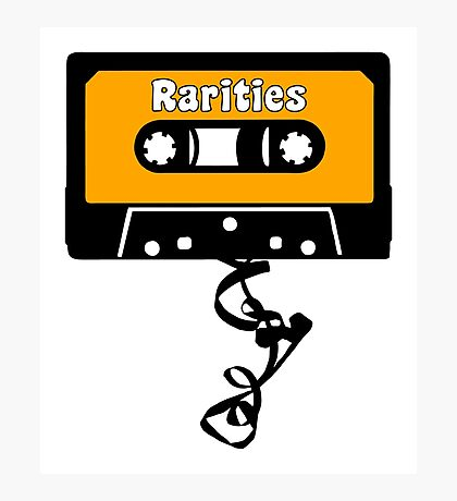 Rarities Cassette Tape Jam Photographic Print