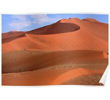 Desert Curves Poster