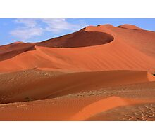 Desert Curves Photographic Print