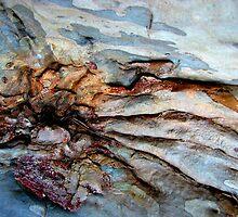 Tidal waves on rocks.......... by Kathie Nichols