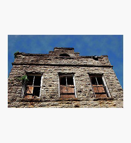 Tuscumbia Bank Photographic Print