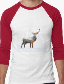deer Men's Baseball ¾ T-Shirt