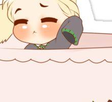 Chibi Bunny Draco Sticker
