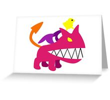 Mother 3 Ultimate Chimera Greeting Card