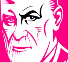 Pink Freud (Sigmund Freud) Sticker