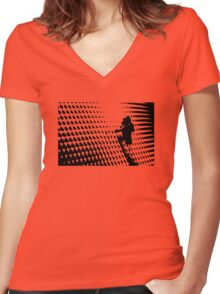 The Ascent Women's Fitted V-Neck T-Shirt