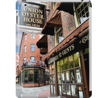 Ye olde Union Oyster House iPad Case/Skin