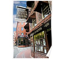 Ye olde Union Oyster House Poster