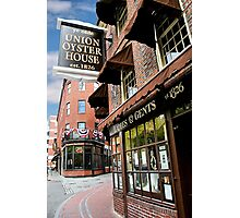 Ye olde Union Oyster House Photographic Print