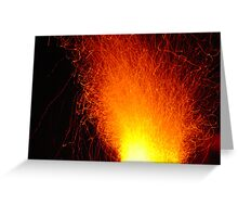 Burn for you Greeting Card