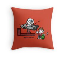 Back to the Future Kids Throw Pillow