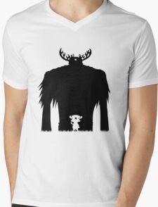 A Big Friend Of Mine Mens V-Neck T-Shirt