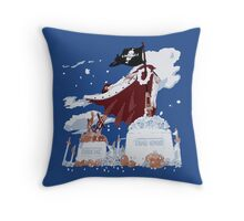 3D2Y Throw Pillow