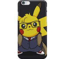 PikaWho - Black iPhone Case/Skin