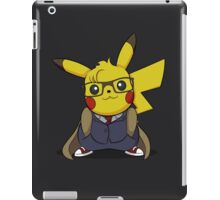 PikaWho - Black iPad Case/Skin