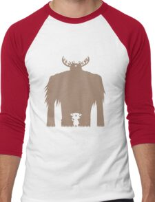 A Big Friend Of Mine - Light Brown Men's Baseball ¾ T-Shirt