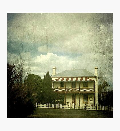 The Station Master's Cottage, Uralla, New South Wales Photographic Print