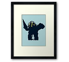 Where Is Daddy? Framed Print