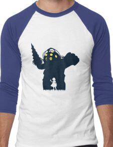 Where Is Daddy? Men's Baseball ¾ T-Shirt