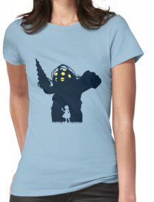 Where Is Daddy? Womens Fitted T-Shirt