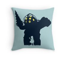 Where Is Daddy? Throw Pillow
