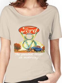 Ford V8  III Women's Relaxed Fit T-Shirt