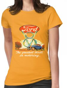 Ford V8  III Womens Fitted T-Shirt