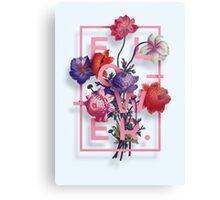 Flowers N1 Canvas Print