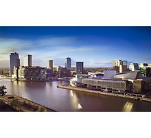 Media City Salford Quays Photographic Print