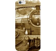 Pickering to Grosmont Steam Railway iPhone Case/Skin