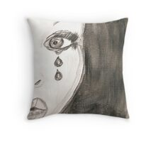 fear and doubt Throw Pillow