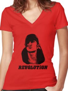 Che Iorveth - Viva la Scoia'tel Revolution! Women's Fitted V-Neck T-Shirt