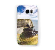 Etretat Cliffs Samsung Galaxy Case/Skin
