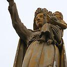 Statue de la Vierge Poitiers by Pamela Jayne Smith