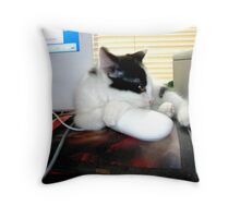 No One Will Take Away My Mouse Throw Pillow