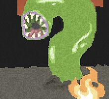 Pixel Monster Worm by Thomtick